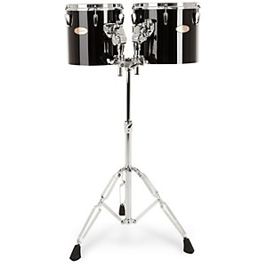 Pearl-PTE1012-10--x-10--12--x-10--Concert-Tom-Set-Midnight-Black