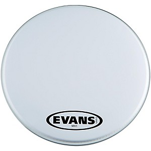 Evans-MX1-White-Marching-Bass-Drum-Head-16-Inch