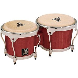 LP-LPA601-Aspire-Oak-Bongos-with-Chrome-Hardware-Darkwood