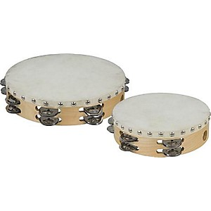 Cannon-Percussion-Double-Row-Tambourine-10-Inches