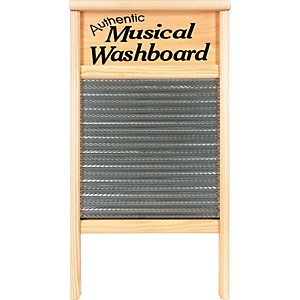 Columbus-Washboard-2072-MS-Authentic-Musical-Stainless-Washboard-Pine-12-7-16x23-3-4-Inches-12-7-16x23-3-4