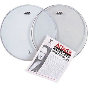 Attack-Terry-Bozzio-Snare-Drumhead-Value-Pack-Standard