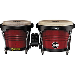 Meinl-Free-Ride-Series-Wood-Bongo-Cherry-Red