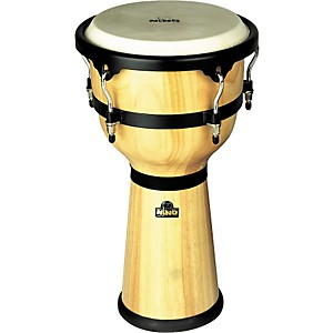 Nino-Wood-Djembe-Drum-Natural-10-Inches