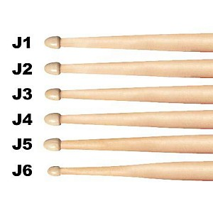 Vic-Firth-American-Jazz-Hickory-Drumsticks-Wood-AJ2