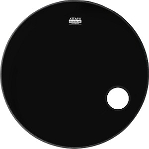 Attack-1-Ply-No-Overtone-Ported-Black-Drumhead-22