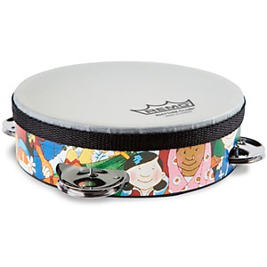 Remo-Rhythm-Club-Tambourine-with-4-Sets-of-Jingles-6-Inches