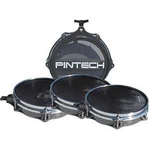 Pintech-Woven-Head-Snare-Drum-and-Tom-Pad-Set-Standard
