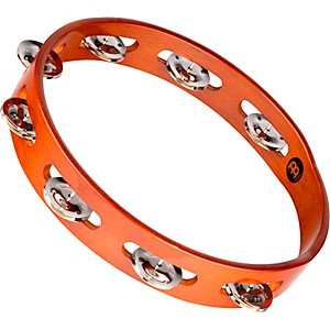 Meinl-Wood-Tambourine-One-Row-Steel-Jingles-Standard