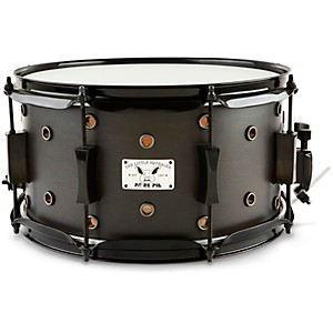 Pork-Pie-Little-Squealer-Snare-Drum-Black-Ebony-Satin-7--X-13-