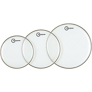 Aquarian-Super-2-Clear-Drumheads-Fusion-Pack-Standard
