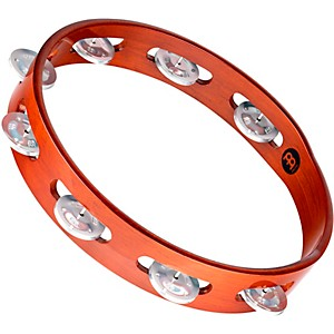 Meinl-Wood-Tambourine-One-Row-Aluminum-Jingles