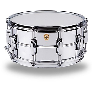 Ludwig-Supraphonic-Snare-Drum-Brass-6-5X14-Inches