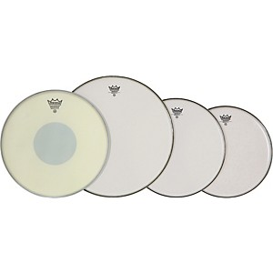 Remo-Drum-Head-ProPack-12-13-16-Smooth-Emperor-with14--Emp-X-Snare-Head-Standard