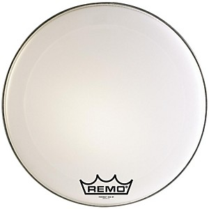 Remo-Powermax-Marching-Bass-Drumhead-Ultra-White-24-Inch