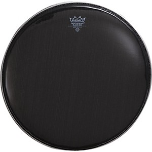 Remo-Black-Max-Crimped-Marching-Snare-Drum-Head-Ebony-13-Inches