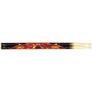 Hot-Sticks-ArtiSticks-Wood-Tip-Drumsticks-Flaming-Skull-5A