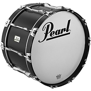 Pearl-Championship-ArticuLite-Series-Indoor-Marching-Bass-Drum-Black-26X12-Inches