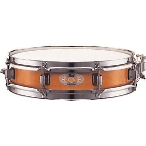 Pearl-M1330-Maple-Piccolo-Snare-Drum-Liquid-Amber