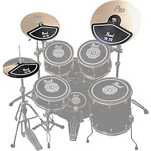 Pearl-RP40C-Rubber-Cymbal-Pad-Set-Standard