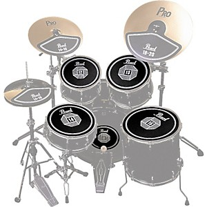Pearl-RP50-Rubber-Disk-Set-Standard