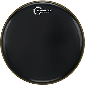 Aquarian-Hi-Frequency-Drumhead-Black-Black-10-Inches