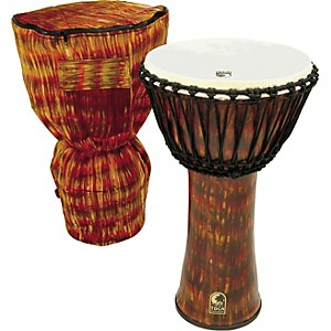 Toca-Freestyle-Cannon-Djembe-with-Bag-Lava-14-Inches