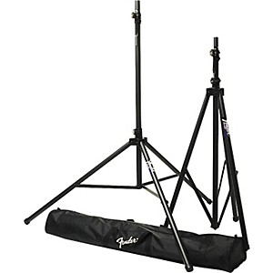 Fender-ST-275-Tripod-Speaker-Stand-Set-with-Carrying-Bag-Standard