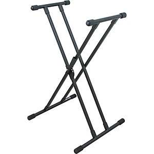 On-Stage-Stands-Deluxe-Keyboard-X-Stand-Standard