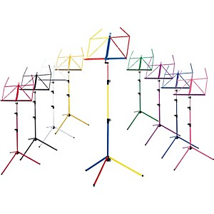 K-M-Rainbow-Music-Stand-Black