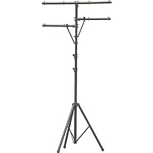 On-Stage-Stands-LS7720BLT-Lighting-Stand-with-Side-Bars-Standard