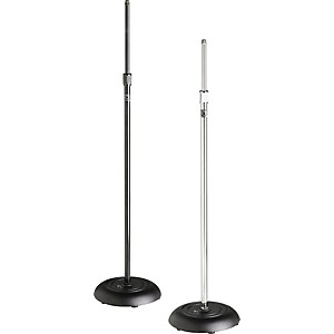 Atlas-Sound-MS-10C-Round-Base-All-Purpose-Mic-Stand-Chrome
