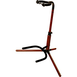 On-Stage-Stands-Rosewood-Tubular-Guitar-Stand-Standard