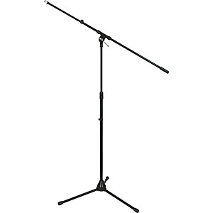 Musician-s-Gear-Tripod-Mic-Stand-with-Telescoping-Boom-Black