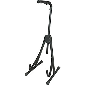 Musician-s-Gear-Deluxe-A-Frame-Electric-Guitar-and-Bass-Stand-Black