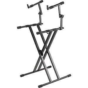 ProLine-PL402-2-Tier-Double-X-Braced-Keyboard-Stand-Standard
