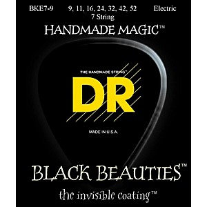 DR-Strings-Extra-Life-BKE7-9-Black-Beauties-Coated-Light-Electric-Guitar-Strings---7-String-Set-Standard