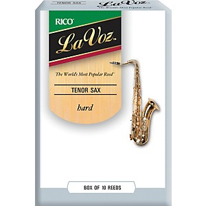 La-Voz-Tenor-Saxophone-Reeds-Hard-Box-of-10