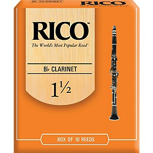 Rico-Bb-Clarinet-Reeds-Strength-1-5-Box-of-10