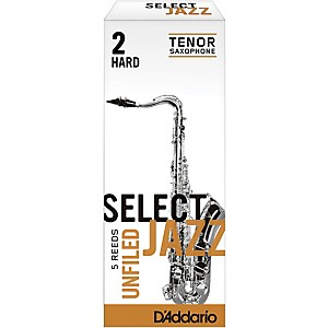 Rico-Select-Jazz-Unfiled-Tenor-Saxophone-Reeds-Strength-2-Hard-Box-of-5
