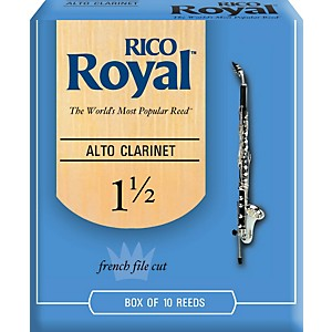 Rico-Royal-Alto-Clarinet-Reeds-Strength-1-5-Box-of-10