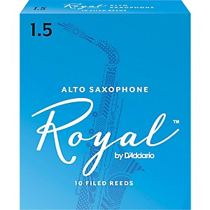 Rico-Royal-Alto-Saxophone-Reeds-Strength-1-5-Box-of-10