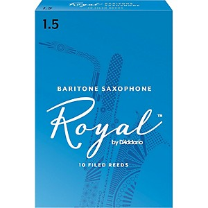 Rico-Royal-Baritone-Saxophone-Reeds-Strength-1-5-Box-of-10