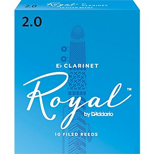Rico-Royal-Eb-Clarinet-Reeds-Strength-2-Box-of-10