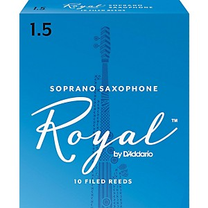Rico-Royal-Soprano-Saxophone-Reeds-Strength-1-5-Box-of-10