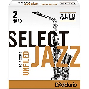 Rico-Select-Jazz-Unfiled-Alto-Saxophone-Reeds-Strength-2-Hard-Box-of-10