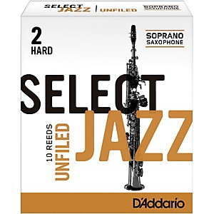 Rico-Select-Jazz-Unfiled-Soprano-Saxophone-Reeds-Strength-2-Hard-Box-of-10