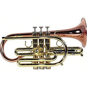 Getzen-800-Eterna-Series-Bb-Cornet-800B4-Lacquer-Copper-Bell--460-Bore