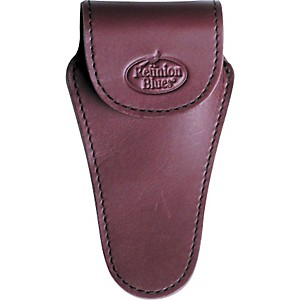 Reunion-Blues-Cornet-Trumpet-Mouthpiece-Pouch-Burgundy-Leather--Silver-Hw