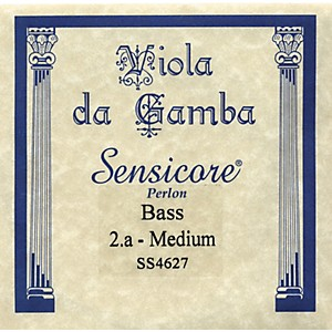Super-Sensitive-Sensicore-Bass-Viola-de-Gamba-Strings-A2--Alum-Synthetic